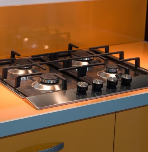 Глянцевые кухни-Кухня МДФ в ПВХ «Модель 44»-фото9